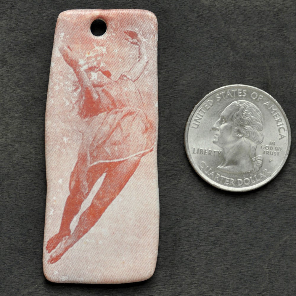 Image of falling girl pendant 2