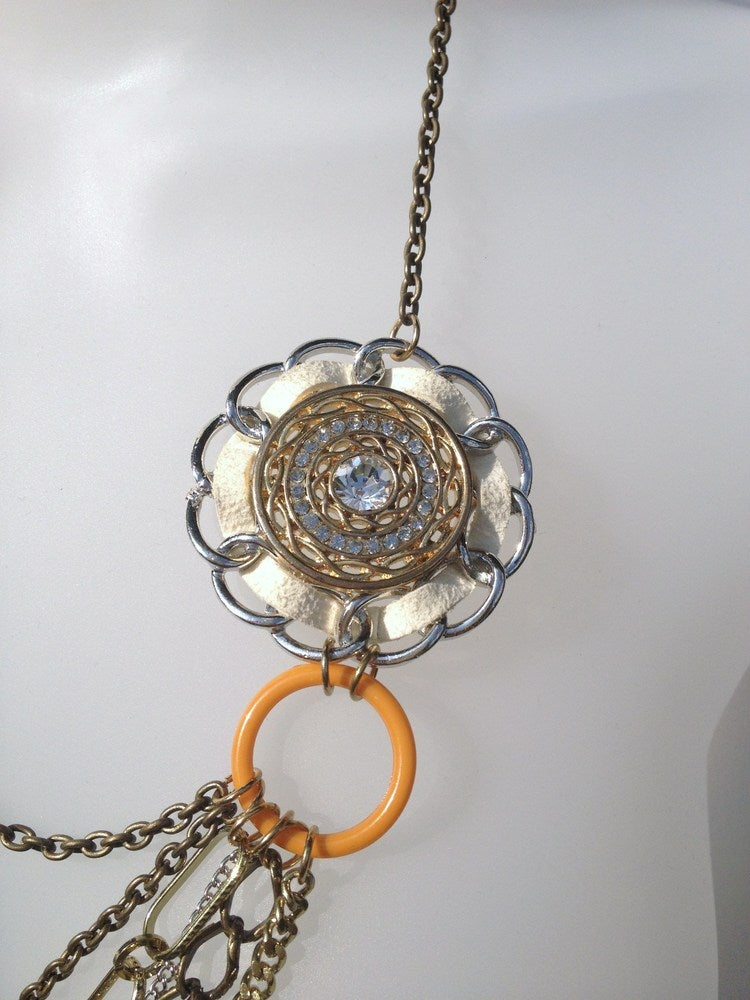 Image of Exclusive Suede Layer Necklace