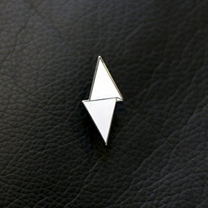 Image of Limited Edition (online only) White PD Logo Hat Pin