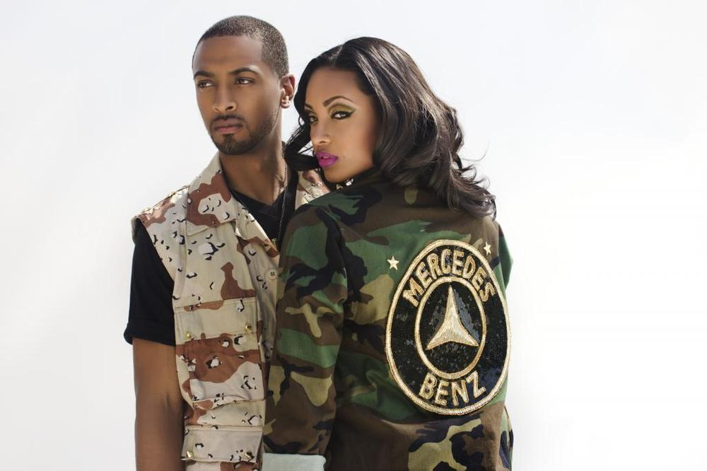 Image of LADIES CAMO FATIGUE Jacket  (as seen on Trina)