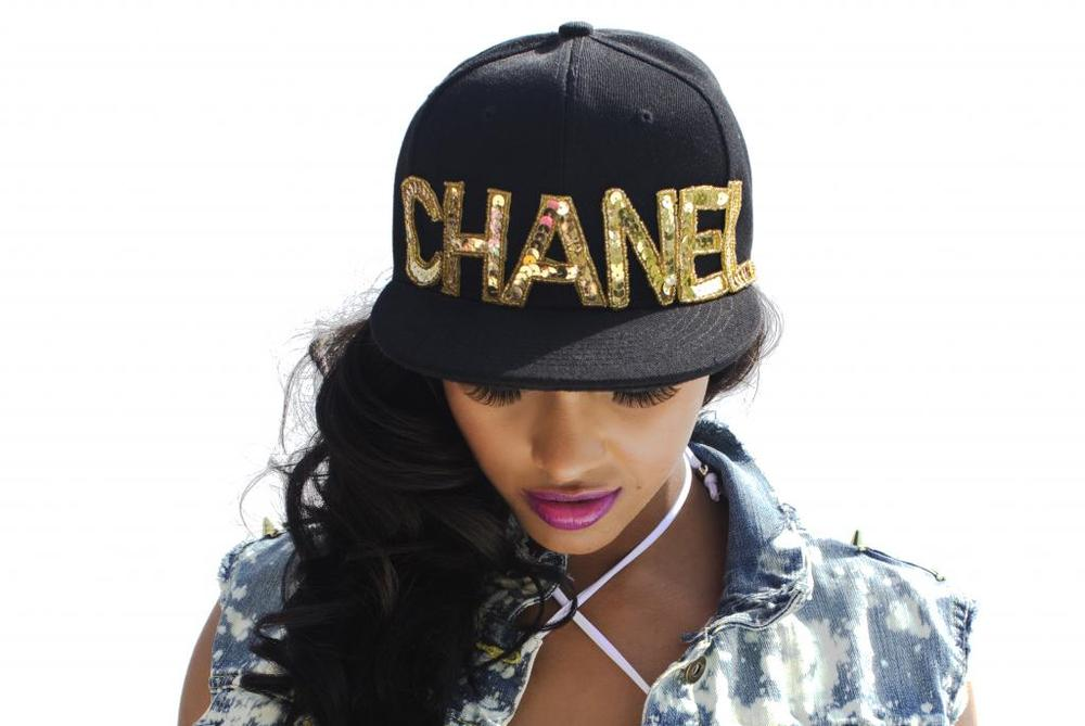 Image of CHANEL Sequin Snapback