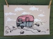 Image of Pink Camper