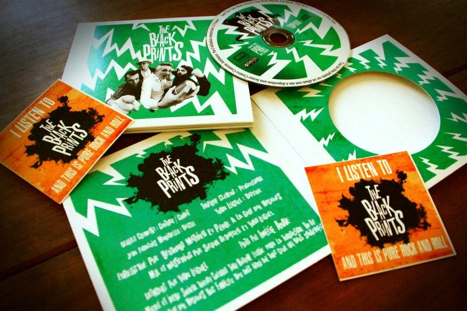 Image of The Black Prints-First EP (CD)