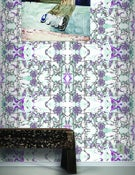 Image of Wallpaper Pattern: Bellus <br> Color Way: Violet Blossoms