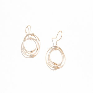 Image of Circle Earrings Gold