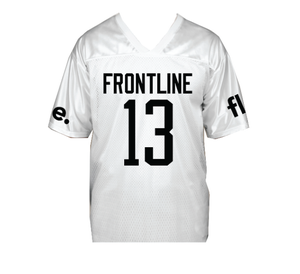 Image of FLE FOOTBALL JERSEY - WHITE