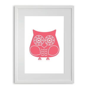 Image of Pink Hoot