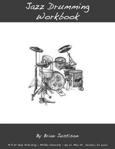 Image of Jazz Drumming Work Book, Vol. 2 - Brian Justison