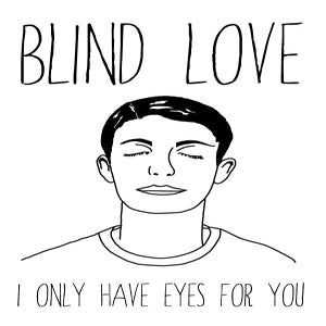 Image of Blind Love T-Shirt (White)