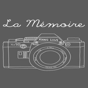 Image of La Mémoire T-Shirt (Charcoal)