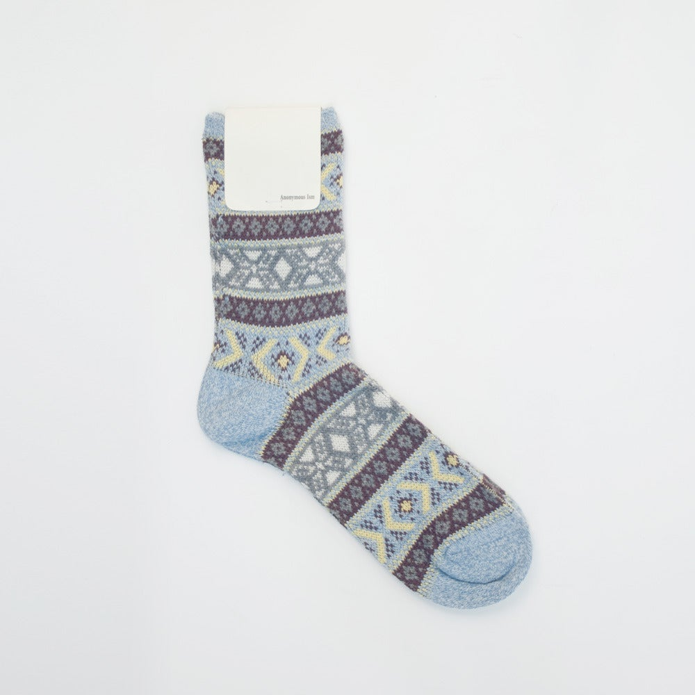 Image of Anonymous Ism Jacquard Socks - SKY