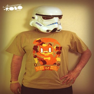 Image of CRAZY FOX by Daniel Bressette (T-Shirt)