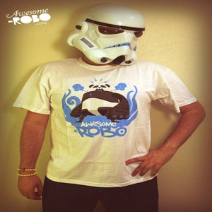 Image of ROBOPANDA By Pac23 (T-Shirt)