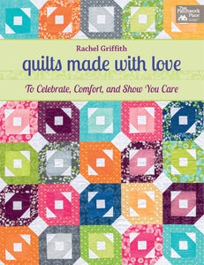 Image of quilts made with love