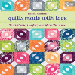Image of quilts made with love.