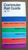 Image of 1974 New York City Commuter Rail Guide, Metro North, PATH, NICE!