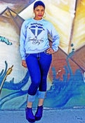 """Image of """"Greatest Love story"""" Gray Crew neck Sweater"""