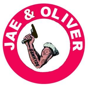 """Image of Jae & Oliver """"RAWHYDE"""" sticker"""