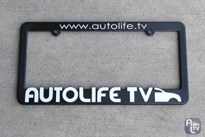 Image of AutoLife TV License Plate Frames