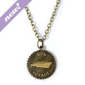 Image of bon voyage necklace