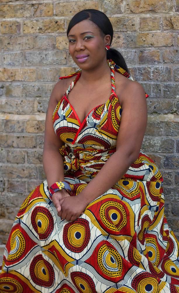 Image of Sunshine Burst (Multi-Wear Maxi Dress)
