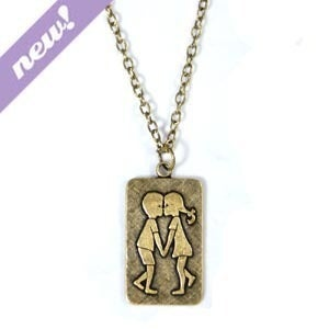 Image of first love necklace