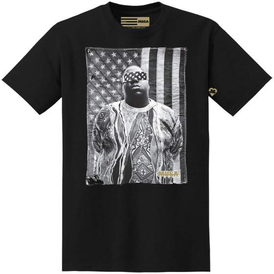 Image of FREE BIGGIE - BLACK
