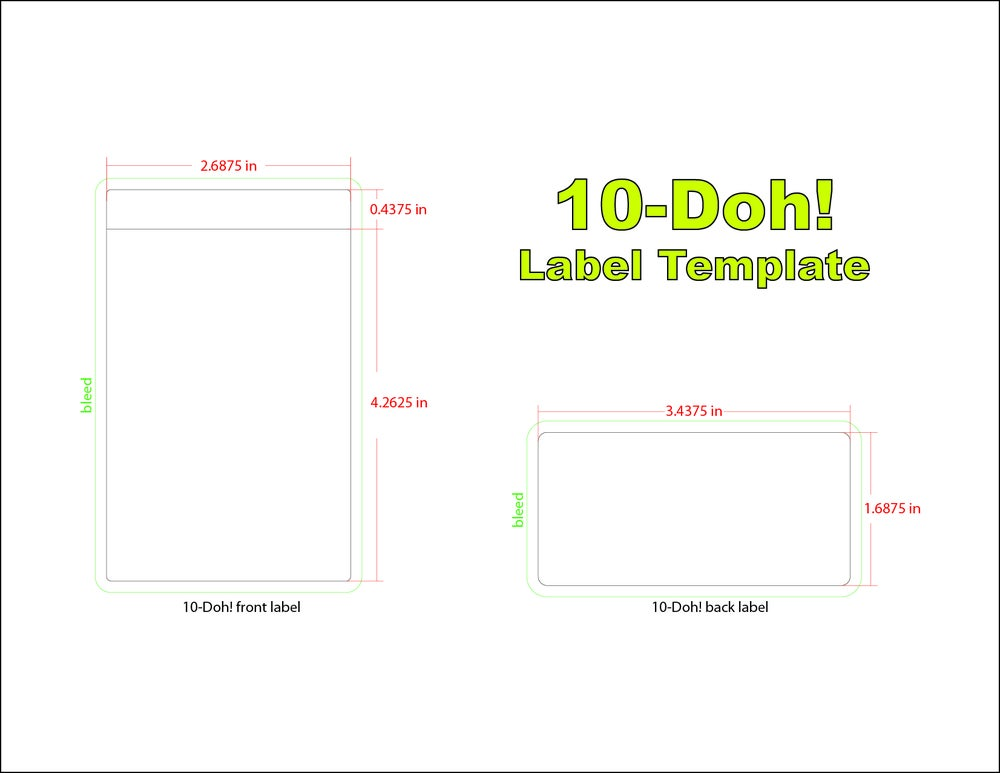 Image of 10-Doh! Blank Figures