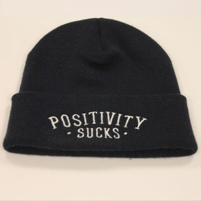Image of Positivity Sucks Beanie