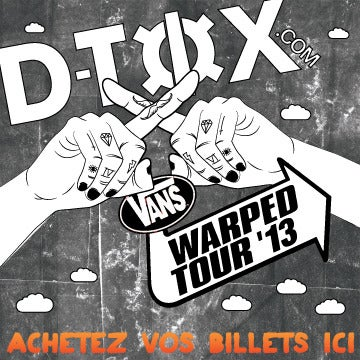 Image of Vans Warped Tour x D-Tox Bus Pass