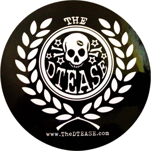 "Image of 4"" DTEASE Vinyl Decal"