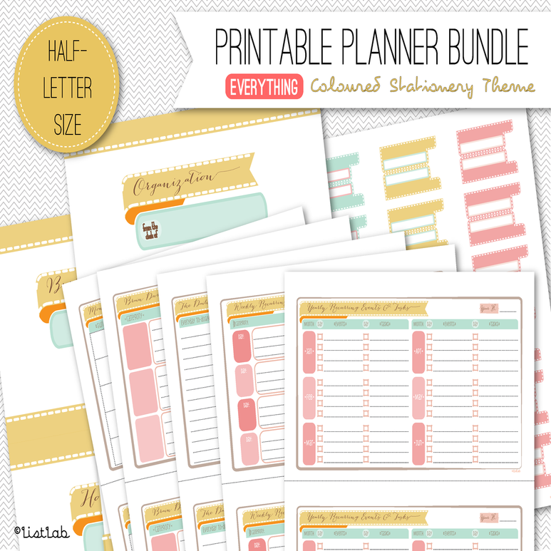 Printable landscape letter size calendar search results for Forever calendar template