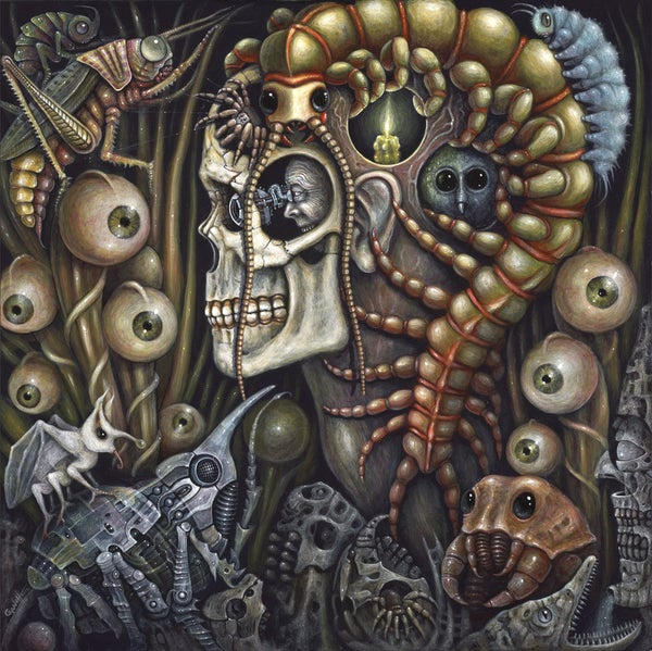 "Image of SOMNAMBULANTS, 16 x 16"" Signed Open Edition"