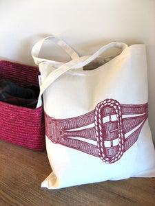 Image of Embellished Bag - Corset
