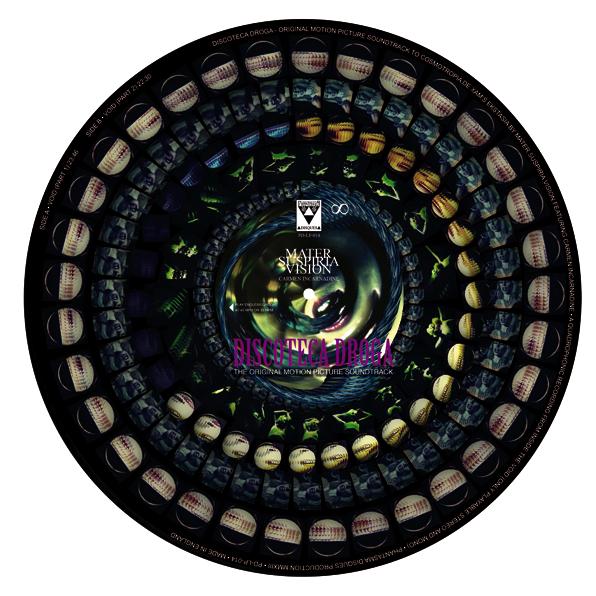 Image of PD-LP-014 Vinyl-Picture-Disc MATER SUSPIRIA VISION feat Carmen Incarnadine DISCOTECA DROGA