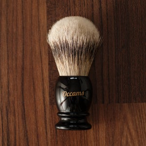 Image of 24mm Deluxe Silvertip Badger Shaving Brush