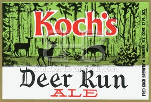 Image of Koch Brewing Company - Koch's Deer Run Ale