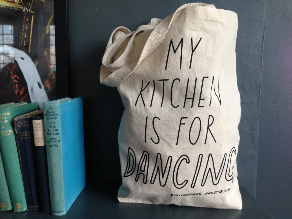 Image of My Kitchen is for Dancing Tote Bag