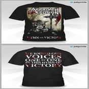Image of Hymn Of Victory T w/ Limited Edition Poster