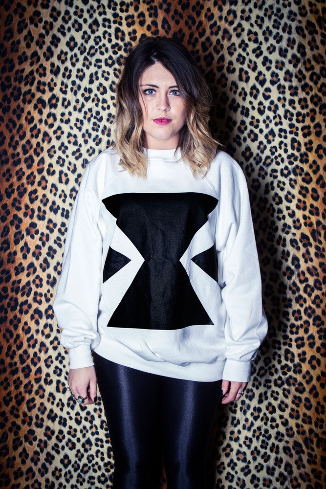 Image of EXTRAGGED Unisex 'X' Sweat (White)