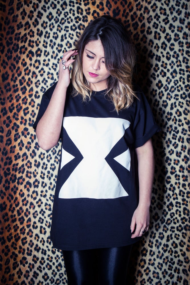 Image of EXTRAGGED Unisex 'X' T-Shirt (Black)