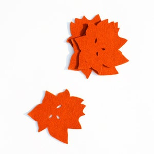 "Image of ""Canopy"" Coasters - Wine or Tangerine"