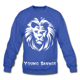 """Image of Young Savage Crew Neck """"Lion"""""""