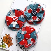 Image of patriotic posy pins - 1
