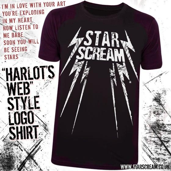 """Image of """"Harlot's Web"""" Style Logo T-Shirt"""