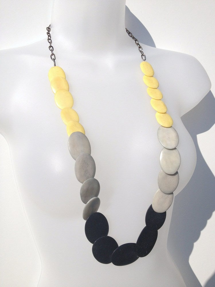 Image of Limited Edition S/S Round Wood Necklace