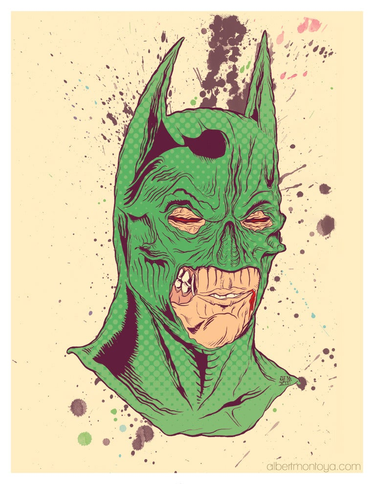 "Image of Print ""Master Wayne"""