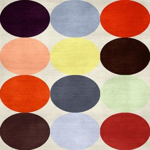 Image of Large Polka Dot Rug