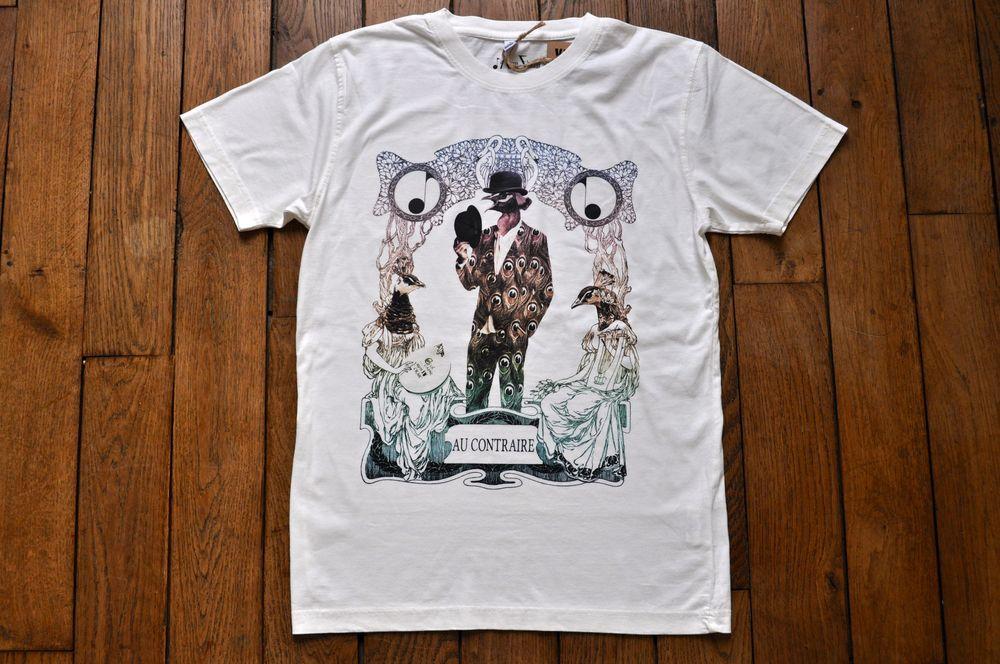 Image of Au Contraire T-Shirt en Couleur