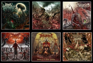 Image of Birth Of Depravity / Rotted Rebirth / SKEWERED etc..